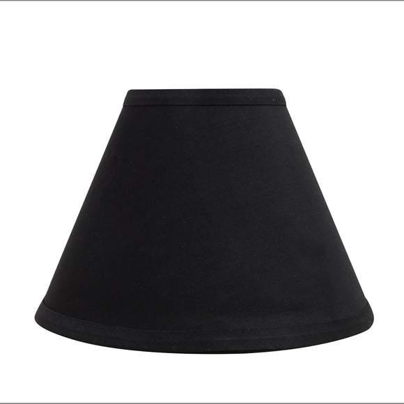 # 58727 Transitional Hardback Empire Shape UNO Construction Lamp Shade in Black, 9