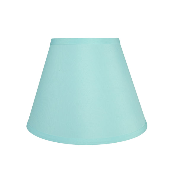 # 58906 Transitional Hardback Empire Shape UNO Construction Lamp Shade in Light Blue, 9