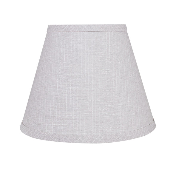 # 58908 Transitional Hardback Empire Shape UNO Construction Lamp Shade in Light Grey, 9