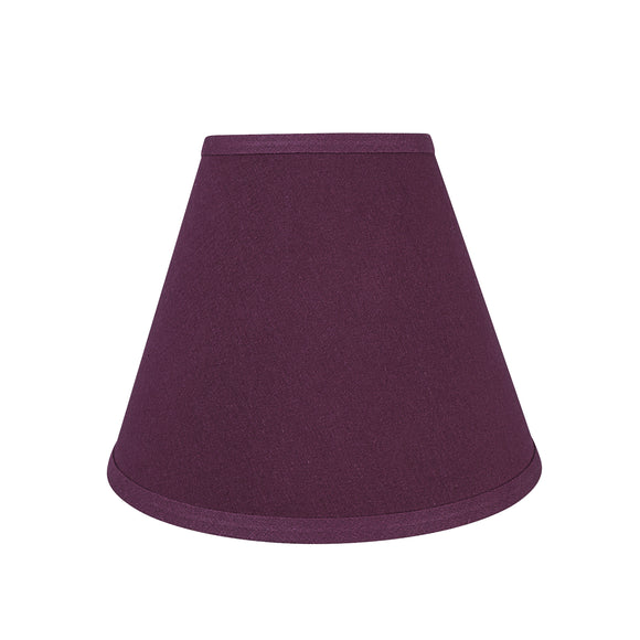 # 58926 Transitional Hardback Empire Shape UNO Construction Lamp Shade in Dark Purple, 10