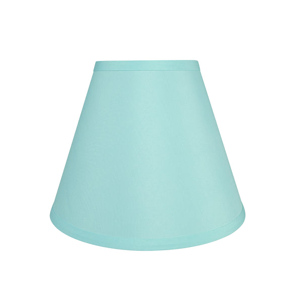 # 58927 Transitional Hardback Empire Shape UNO Construction Lamp Shade in Light Blue, 10