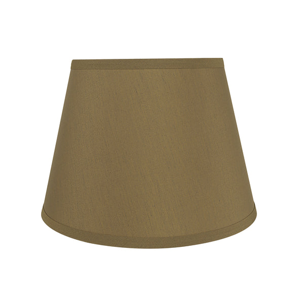 # 58936 Transitional Hardback Empire Shape UNO Construction Lamp Shade in Sand Brown, 12