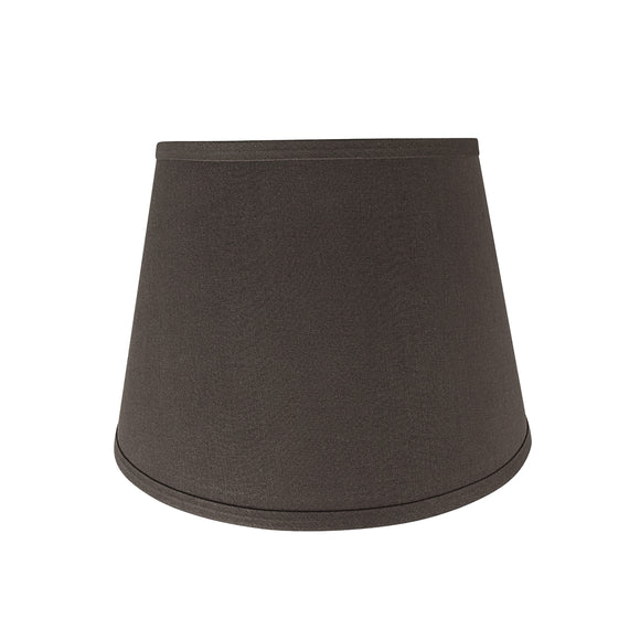 # 58952 Transitional Hardback Empire Shape UNO Construction Lamp Shade in Dark Brown, 13