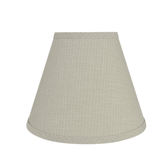 # 59104 Transitional Hardback Empire Shape UNO Construction Lamp Shade in Grey, 10