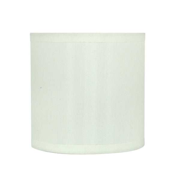 # 31001 Small Hardback Drum Shape Mini Chandelier Clip-On Shade, Transitional Design, Off White, 5