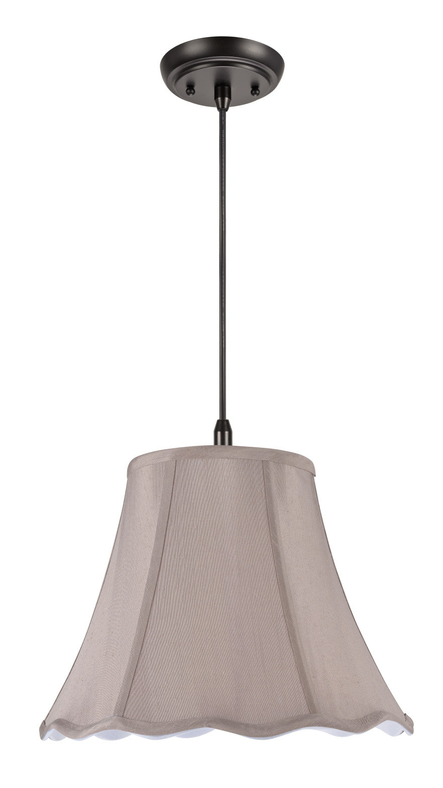 Bell Lampshade Faux Silk Fabric Floor Table Ceiling Lamp Shade