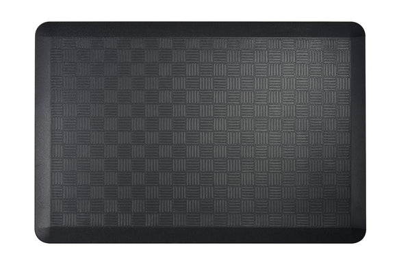 # 18002-32 Anti-Fatigue, Ergonomically Engineered, Non-Toxic, Non-Slip, Waterproof, All-Purpose PU Floor Mat, Basket Weave Pattern, 24