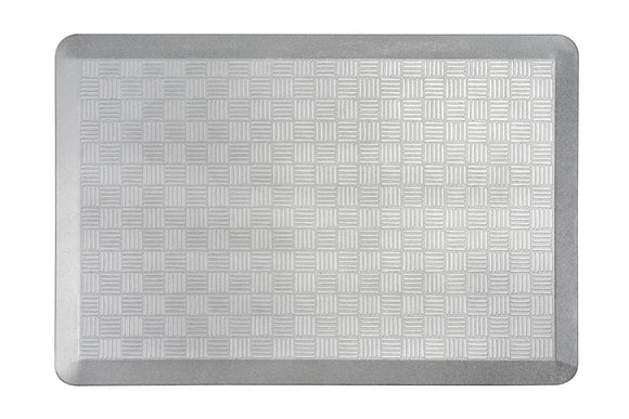 # 18002-21 Anti-Fatigue, Ergonomically Engineered, Non-Toxic, Non-Slip, Waterproof, All-Purpose PU Floor Mat, Basket Weave Pattern, 24