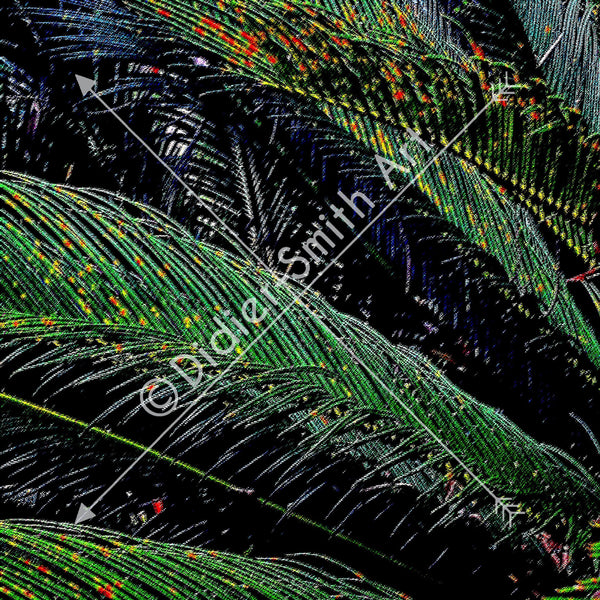 C1209 Palms in Rio - Didier-Smith Art