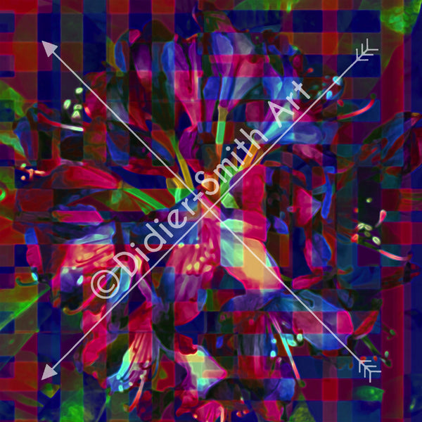 C2783 Multicoloured abstract