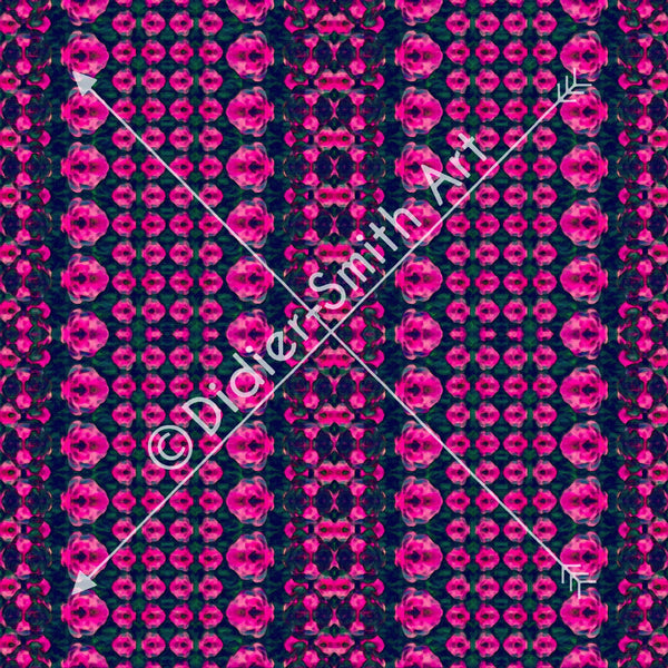 C2899 Pink and black mosaic