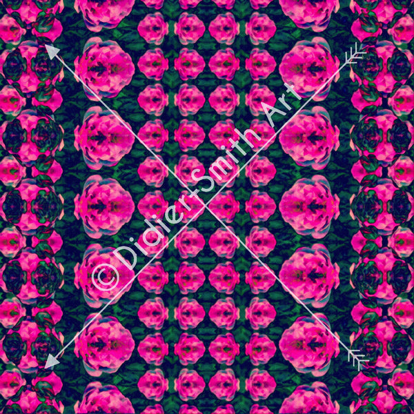C2900 Pink and black mosaic