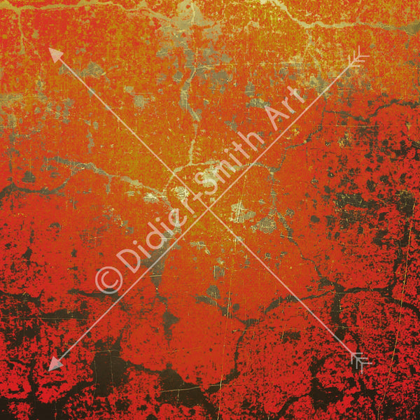 C3255 Red abstract