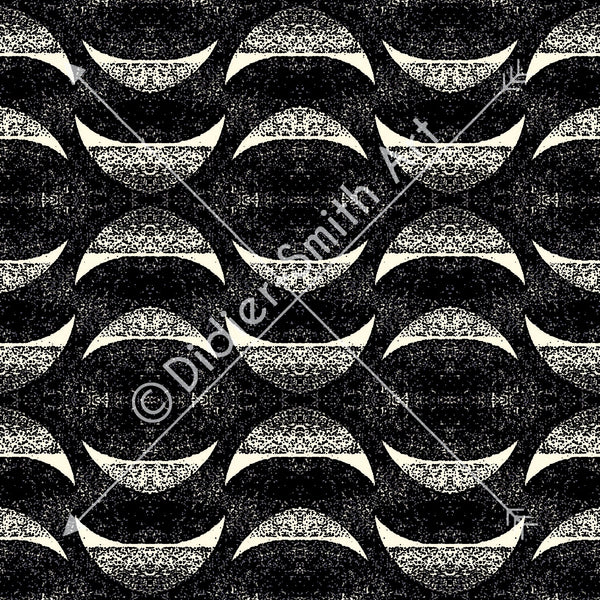 C3748 Black and white abstract