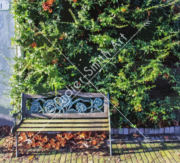 C111 Bench in the park - Didier-Smith Art