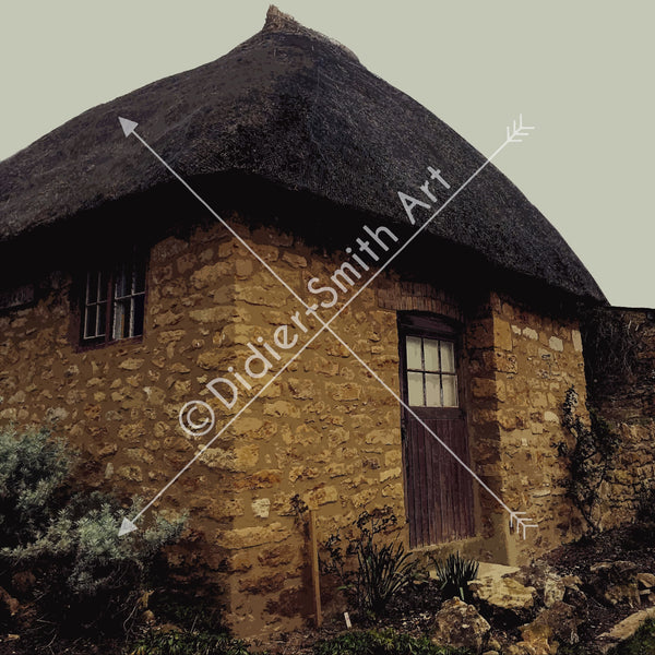 C1199 Corner Cottage - Didier-Smith Art