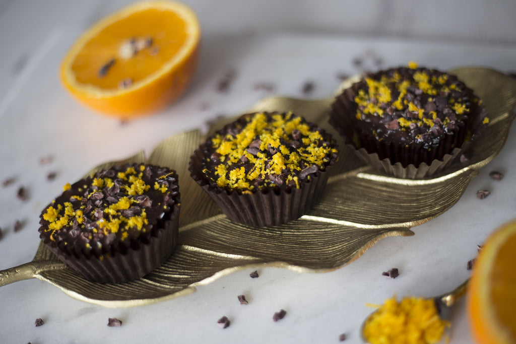 """ Triple Chocolate & Orange ""- Orange Flavours & Dark Chocolate Cupcakes"