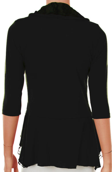 Plus Size Black Sweater