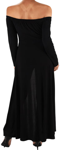 Image of Funfash Plus Size Women Gothic Black Pants Leggings Cape Dress Jumpsuit Jumper