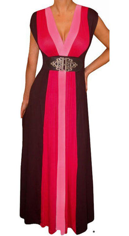 Pink Maxi Dress Made in USA
