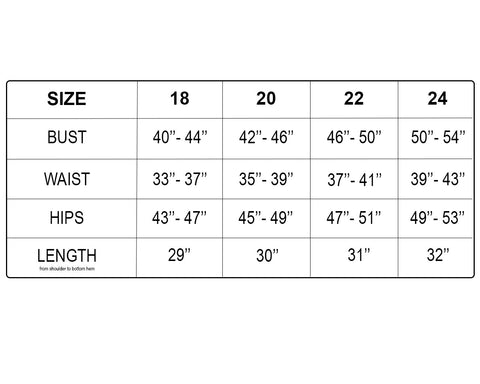 Image of Funfash Plus Size Black White Swimwear Swimsuit Bathing Suit Size Chart