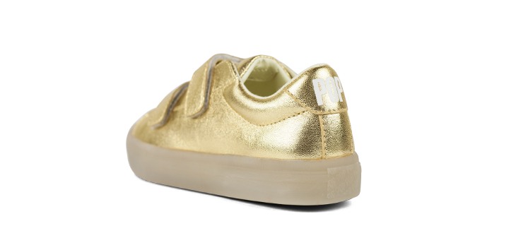Holiday Velcro Gold
