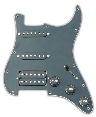 HSS Loaded Strat® Pickguard