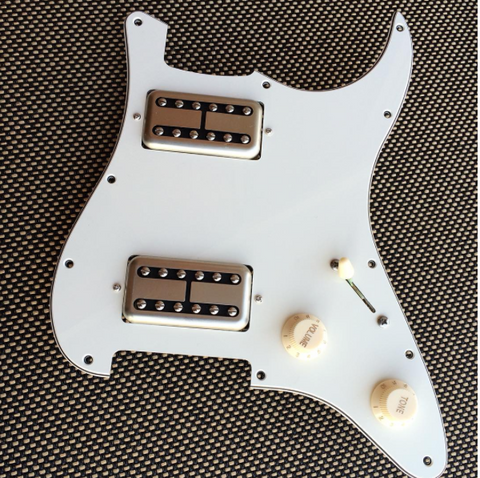 Dual Humbucker Loaded Pickguard for Strat®