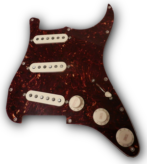 SSS Loaded Pickguard