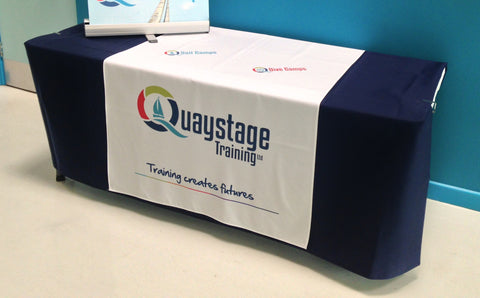 Promotional Table runner and Plain Undercloth