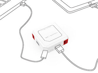 Allocacoc PowerUSB | HUB |