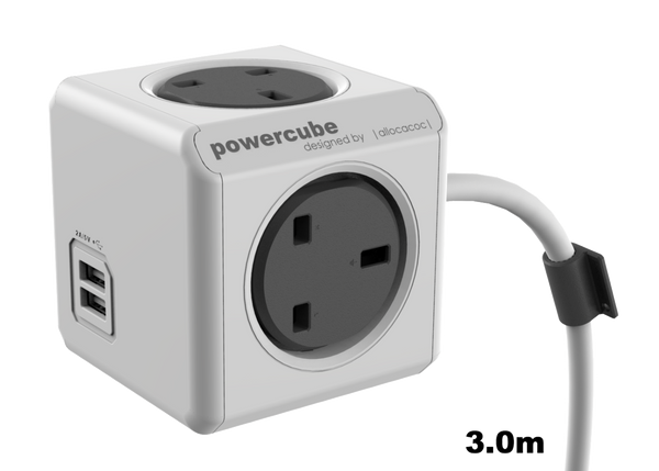 Allocacoc PowerCube Extended USB 3.0m