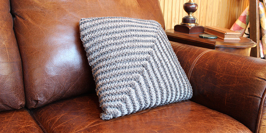 Mitered Square Pillow