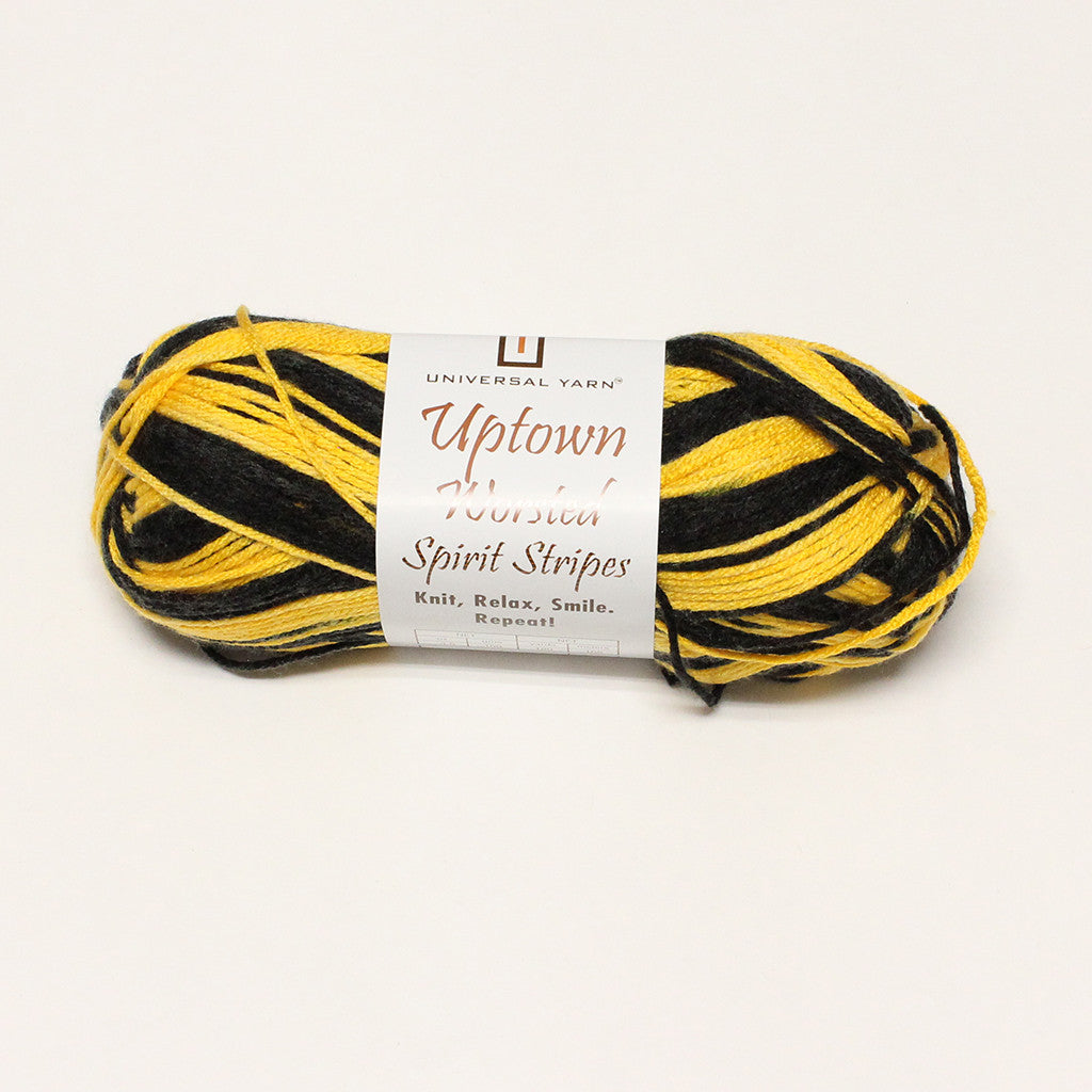 Uptown Worsted Spirit Stripes - d