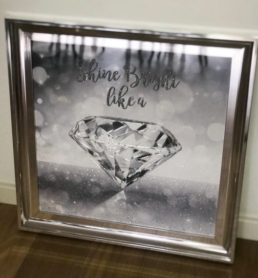 Shine Bright Like a Diamond Wall Art