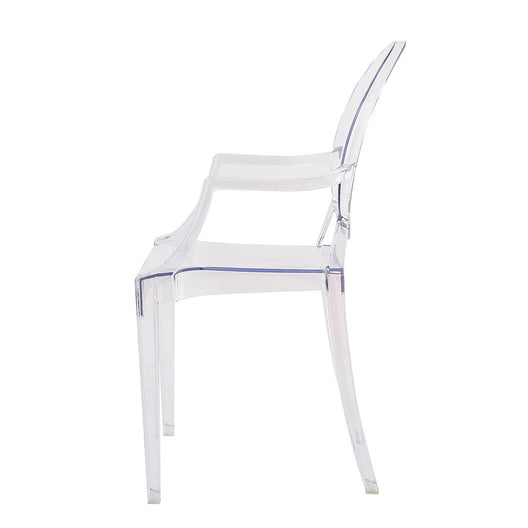 Ghost Dining Chair with Arms