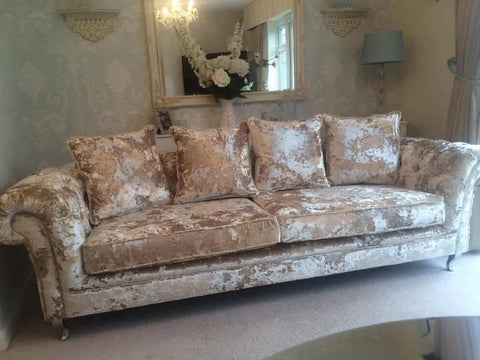 Image of Scattered Cushions (Additional to complete your sofa) - Mirrored furniture - Sparkle Diamond - House of Sparkles