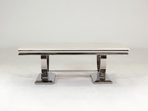 Arabella Coffee Table - Mirrored furniture - Sparkle Diamond - House of Sparkles
