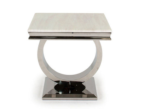 Arabella Side Table - Mirrored furniture - Sparkle Diamond - House of Sparkles