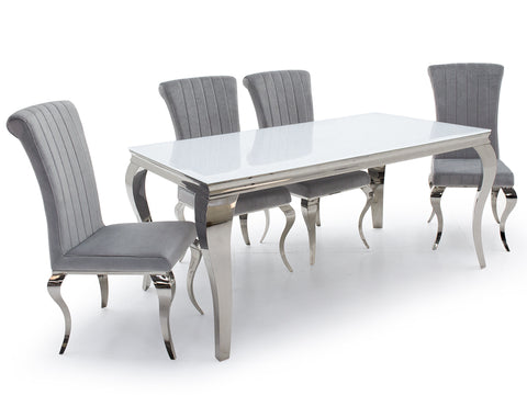 Skyline Dining set with Nicole Chairs