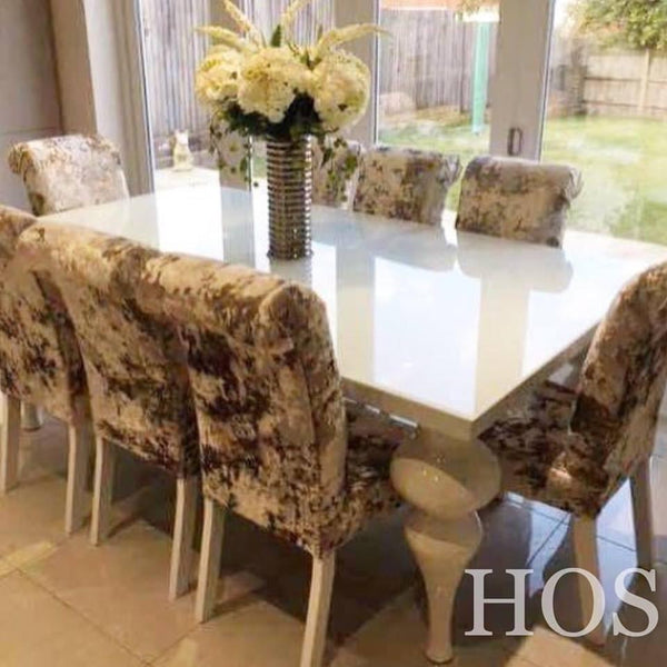 The 8 seater empire dining set house of sparkles