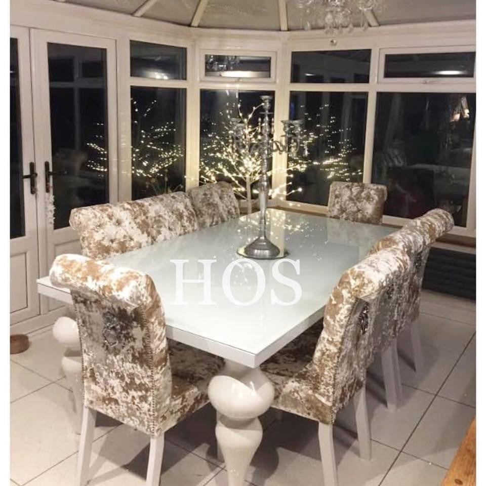 The 8 Seater Empire Dining Set With Made To Order Chairs ...