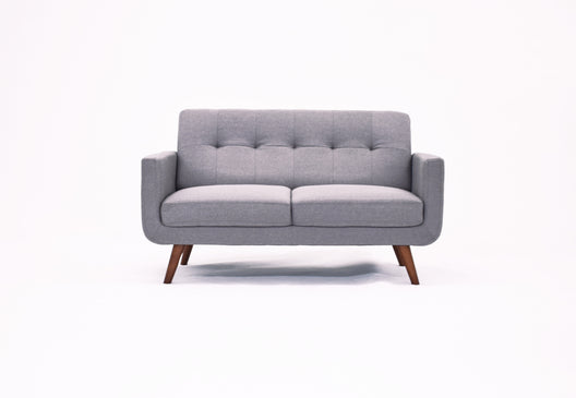 Tristan 2 Seater Sofa in Grey Fabric