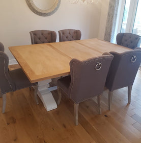 Lincoln Dining Set (6-8 Seats)