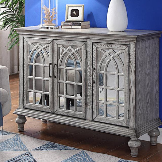 Chester Wood and Mirror Sideboard | HOS Home | Mirrored furniture | Affordable Luxury