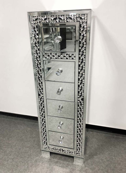 Miami Mirrored Tallboy