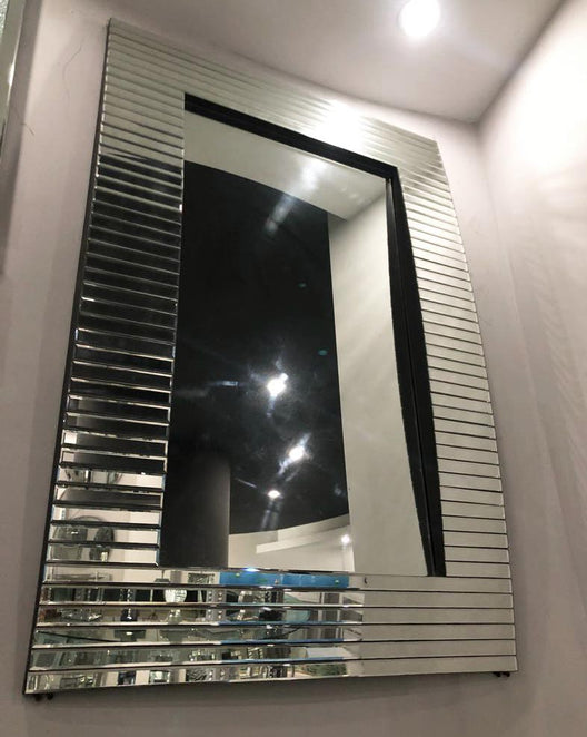 Axel Wall Mirror | HOS Home | Mirrored furniture | Affordable Luxury