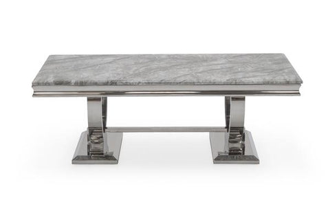 Arizona Dining Table only - Mirrored furniture - Sparkle Diamond - House of Sparkles