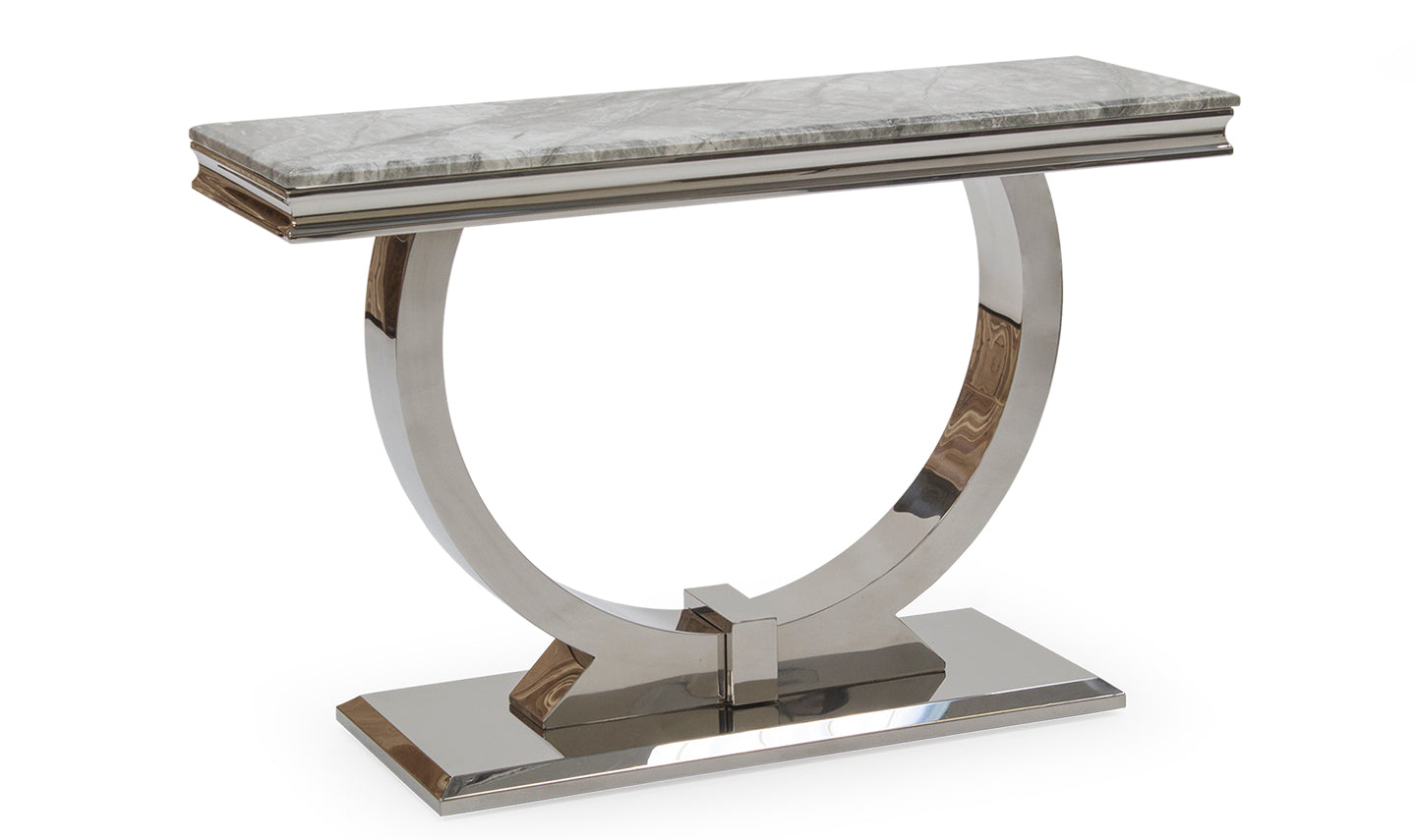 Arizona Console Table - Mirrored furniture - Sparkle Diamond - House of Sparkles