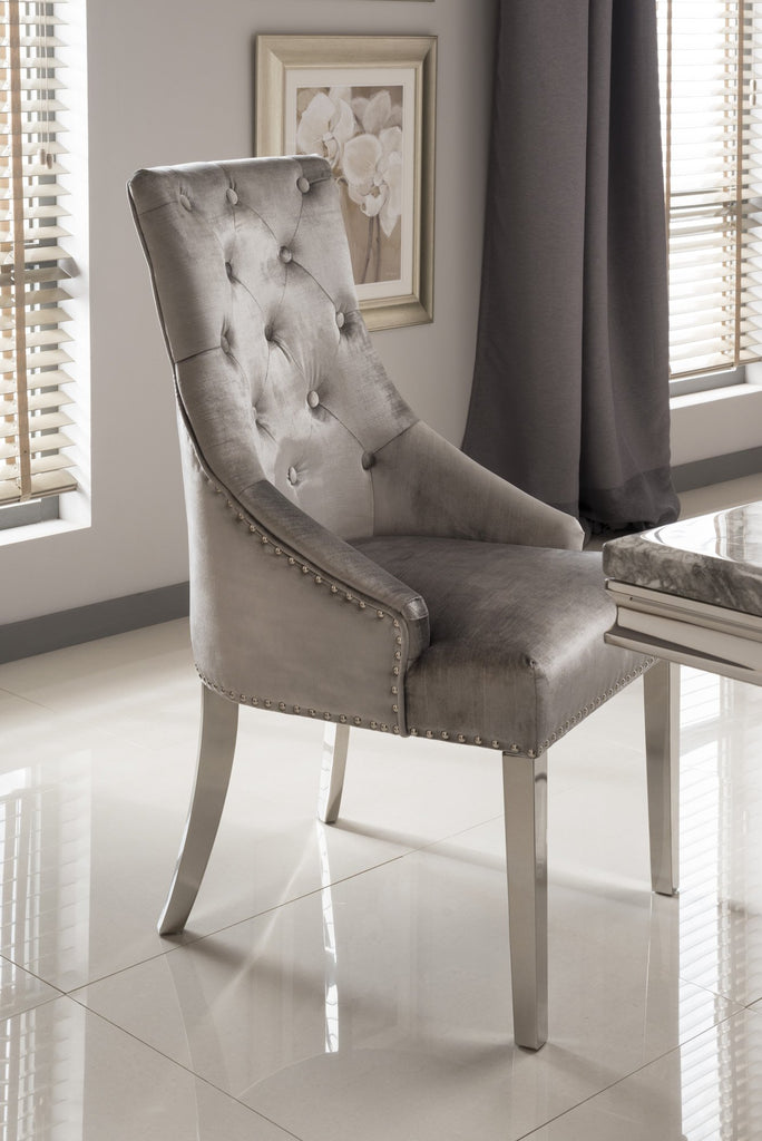 Arizona Dining Chair | HOS Home | Mirrored furniture | Affordable Luxury